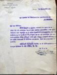 Carta al Alcalde, 1919