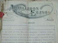 Contrato de un Vapor, 1923
