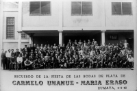 Carmelo Unanue-1943_Fiesta Bodas de plata