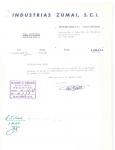 egurko-1967_escrito-de-industrias-zumia