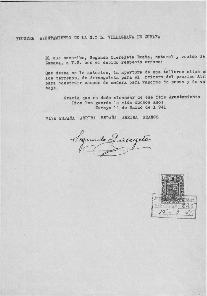 segundo-querejeta-1941_[eu]Tauro zamanontzia itsas zabalean [es]El barco de cabotaje Tauro en alta marpermiso-apertura