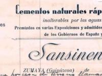 Sansinenea e Hijos- 1930_membrete